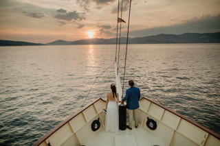 Wedding boat Croatia