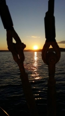 sunset cruise Split