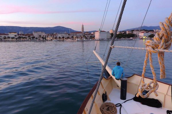 sunset cruise Split