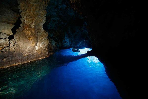 Blue cave tour Split