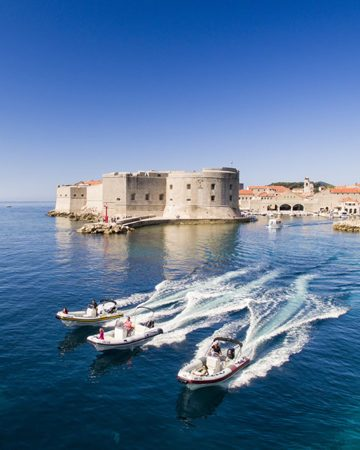 Speedboat and classic boat excursions and transfers