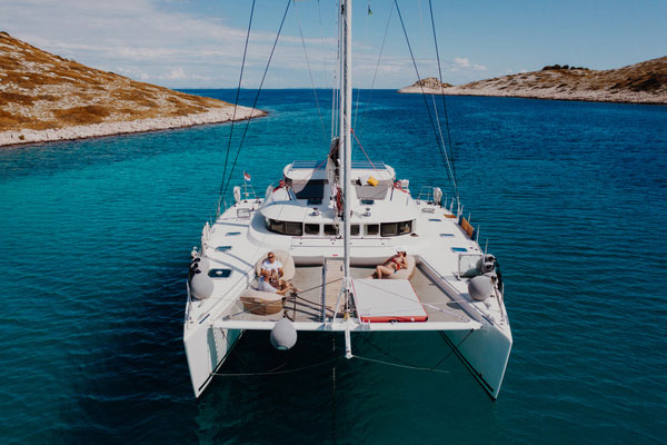 Crewed Catamaran Charter Croatia