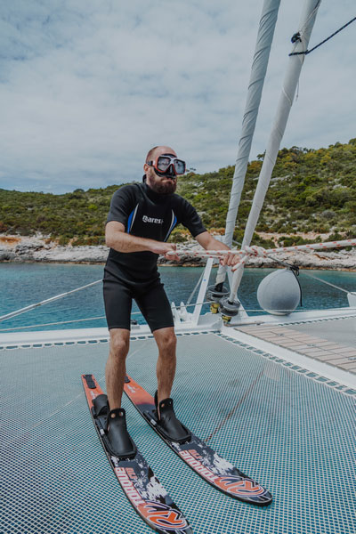 Crewed Catamaran Charter Croatia